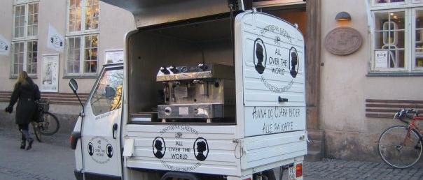 Kaffeknallert med Søstre Grene branding - Kalles Kaffe