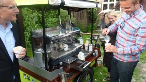 Barista coffee at Your privat party - Kalles Kaffe