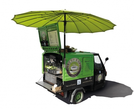 Coffee Moped with parasol - Kalles Kaffe