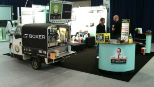 Barista coffee at Your trade fair stand - Kalles Kaffe
