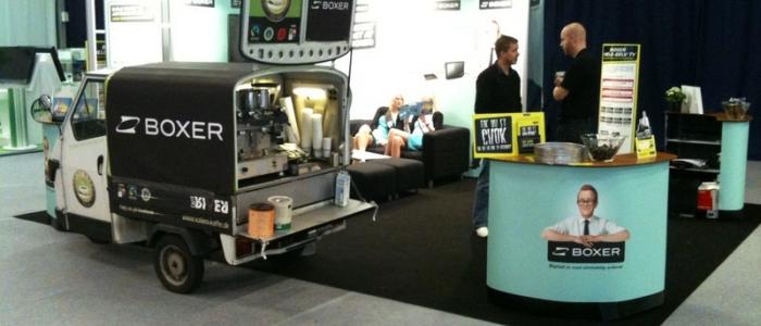 Kaffeknallert med Boxer branding - Kalles Kaffe
