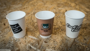 Cups used in promotional campaigns - Kalles Kaffe