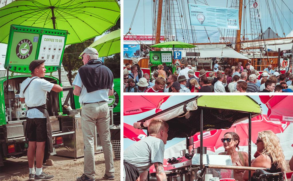 collage af billeder fra folkemødet på bornholm
